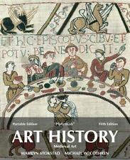 Art History Portables Book 2- Medieval art- full color 5th edition good cond.