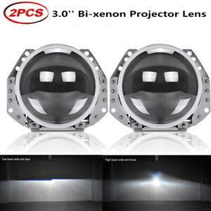 Headlight 3.0 Inch HID Bi-xenon Hella 5 Projector Lens Retrofit D1S D2S D3S D4S