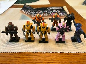 Halo Mega Bloks Delta Series Halo Wars 8 Figures