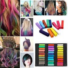 36 Hair Dye Easy Temporary Colours Hair Chalk Soft Pastels Hair Colour Salon