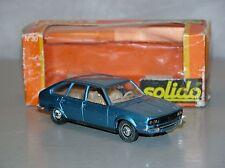 Solido 30 Renault 30 bleu métal  neuf boite (#A2B)
