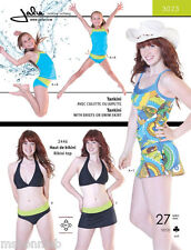 Jalie Tankini Swimsuit Tank Top & Regular or Skirted Brief Sewing Pattern 3023