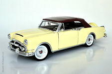 WELLY 1:24 AUTO DIE CAST PACKARD CARIBBEAN '53 BEIGE E MARRONE 24016 24016HW
