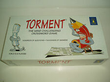 "Vintage ""Torment"" The Mind Challenging Crossword Game 1995"
