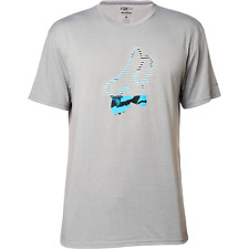 "Fox Men's Dri Fit S/S T-Shirt ""Soker"" GRY - XLarge - NWT"