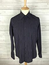 "Men's HUGO BOSS Shirt - 15.5"" - Striped - Great Condition"