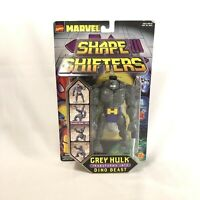 Marvel Shape Shifters Grey Hulk Action Figure 1999 ToyBiz New on Card