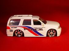 JADA '03 LINCOLN NAVIGATOR AIRPORT POLICE K-9 UNIT CAR RUBBER TIRE LIMITED