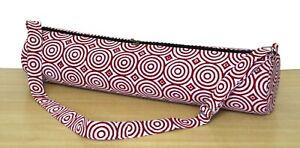 100% Cotton  Handmade Indian Yoga Mat Bag Throw Ethnic Adjustable Shoulder Strap