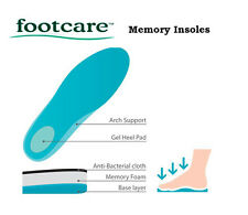 Footcare Advanced Memory Insoles Inner Soles RRP$19.00