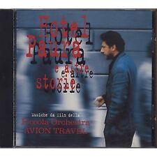 AVION TRAVEL - Hotel paura e altre storie - CD OST 1996 NEAR MINT CONDITION
