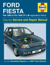1595 Haynes  Ford Fiesta Petrol (Feb 1989 - Oct 1995) F to N Workshop Manual