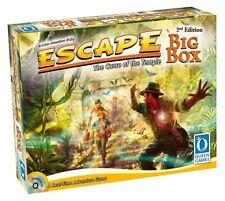 ESCAPE : DER FLUCH DES TEMPELS - BIG BOX 2nd Edition - Queen Games 10353 - NEU
