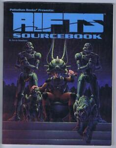 Rifts Sourcebook Number One (Rifts RPG 1991 Palladium Books #801)