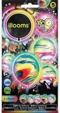 Illooms LED Ballons Murmel Mix 5er Pack