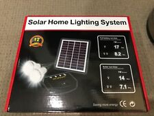 Solar Indoor Lights for Two Rooms Kit - DIY -+- Free postage Aust Stock !