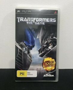 Playstation Portable PSP Game - Transformers: The Game
