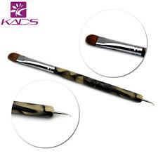 100% Kolinsky Sable Brush 2 way Acrylic UV Gel Nail Art Builder Brush Pen Set
