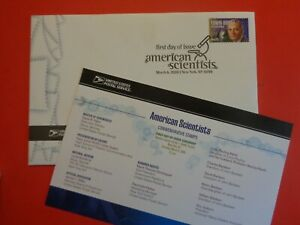 USPS 2008 First Day Cover & Ceremony Program-Edwin Hubble-Science (Nice Cover.)