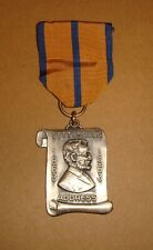 1863 Gettysburg Address Commemorative medal