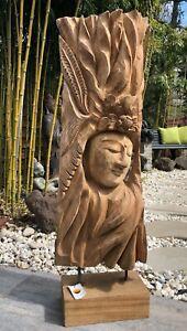 Buddha- Skulptur Aus der Natur gewachsen und handwerklich vollendet. Wertvoll.