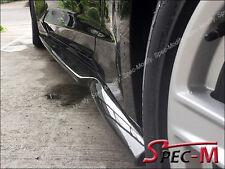 G6 Carbon Fiber Side Skirts Rocker Extension Lip For 16-17 Chevy Camaro SS V8 CF