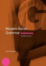 Modern Italian Grammar Workbook: By Proudfoot, Anna