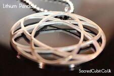 Lithium Atom science sacrée pendentif symbole géométrique