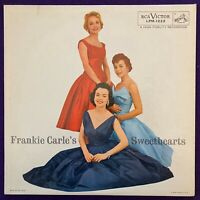 FRANKIE CARLE Sweethearts LP '56 RCA Mono CHEESECAKE Cover Record Vinyl NM-