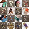 Girl Silk Ribbon Headband Bag Handle Decoration Accessories Neck Bow Tie Scarves