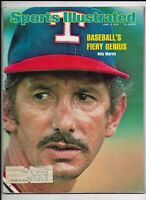 A Sports Illustrated Magazine ~ June 2 1975 ~ Billy Martin Texas Rangers MLB