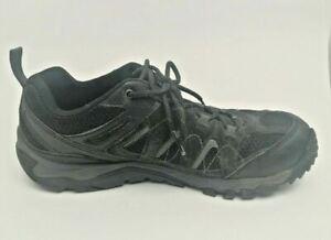Men's Merrell Size 10 J0954 Outmost Ventilator Black Hiking Shoe Boots