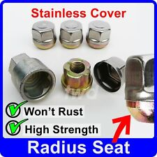 4 x ALLOY WHEEL LOCKING NUTS FOR MG/ROVER (RADIUS SEAT) LUG BOLTS STUDS [J0t]