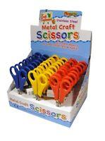 Kids School Scissors 5inch Craft Creative Paper Cutting Safe 4 Kids Blunt End