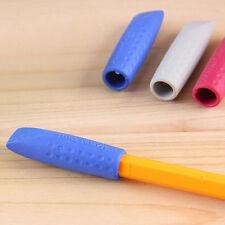 3pcs Set Pencils Cap Topper Cover Extender Eraser Drawing Writing Students Hot
