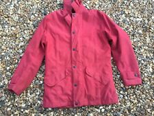 Barbour Ladies Newdale jacket in red in size S