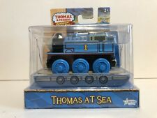 Thomas and Friends Wooden Railway Train Thomas at Sea Engine New in Box