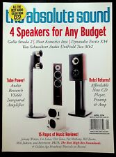The Absolute Sound Magazine April 2014 Stereo Audio Speaker Amp Preamp Reviews