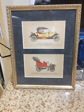 TWO (2) VINTAGE 1912 Stutz Roadster & 1905 Cadillac Surrey Type Fouring Car