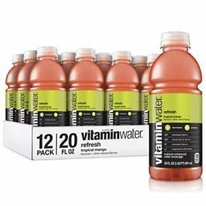 Vitaminwater Zero Sugar Ice, Cool  Mango Lavender Flavored, Multivitamins