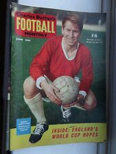 B Charlton Football magazine Buchan's monthly 1962 June no130 world cup preview