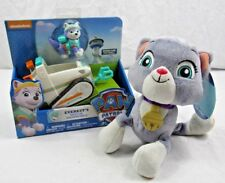 Paw Patrol Everest's Rescue Snowmobile With Cali Cat Stuffed Animal Pup Pal NEW
