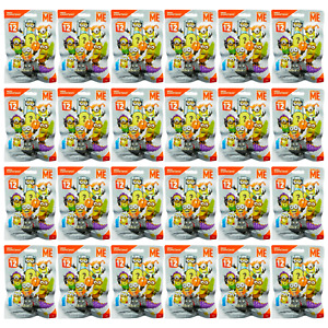 Mega Construx DESPICABLE ME (Series 12) MINIONS Blind Bag Mini Figures x 24