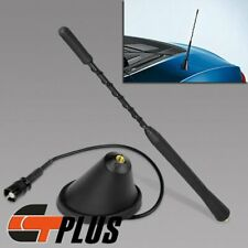 "9"" AM/FM RADIO MAST ANTENNA + ROOF BASE COMBO FOR BMW TOYOTA VW MAZDA"