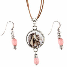 Horse Whispers FIRST LOVE Necklace and Earring Set