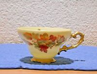 Cherry Exclusive Tea Cup Handpainted Cherry Exclusive with Leaves