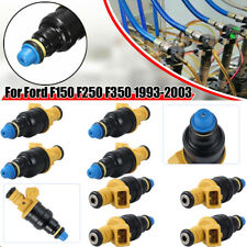 Set(8) Flow Matched Fuel Injectors For Ford 4.6 5.0 5.4 5.8 Replaces 0280150943
