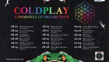 Coldplay: A Head Full of Dreams Tour - Seattle, Sat 9/23 (2 tickets for Sale!)
