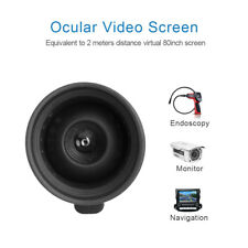 Occular Video Screen Equivalent to 2M Distance Virtual 80 Micro Screen 854×480