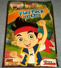 Disney Jake & The Never Land Pirates Play Pack Coloring Book Crayons Stickers